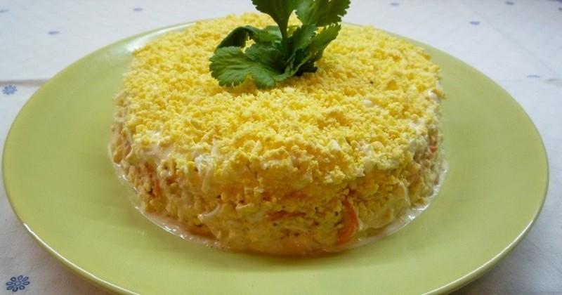 вкусные нежные салаты