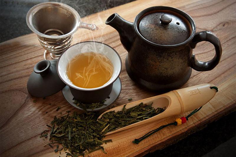 На ночь пить зеленый чай