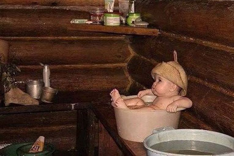 Смешные моменты в бане