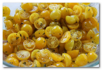 Что можно приготовить из желтых помидоров